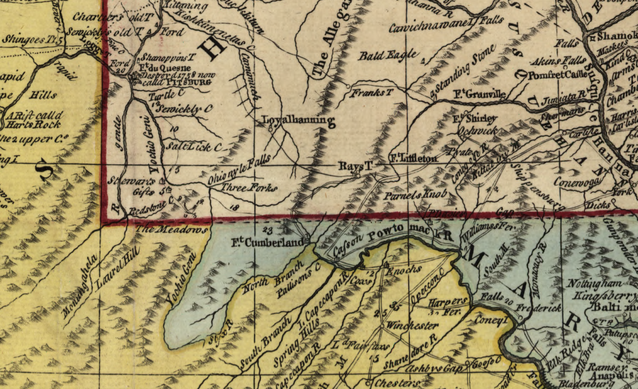 VirginiaPennsylvania Boundary