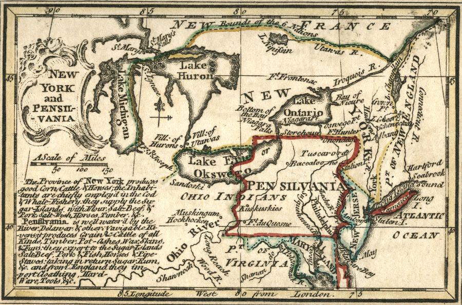 VirginiaPennsylvania Boundary