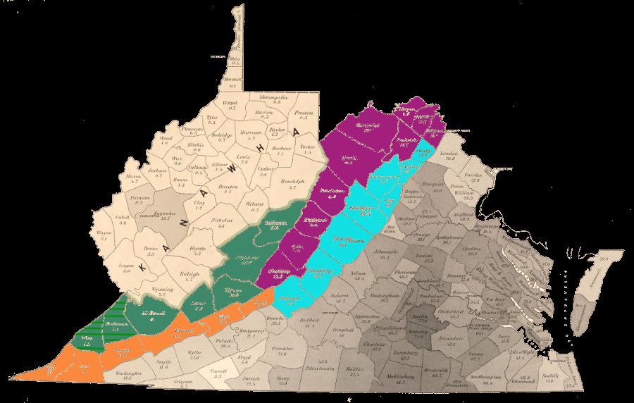 Virginia-West Virginia Boundary