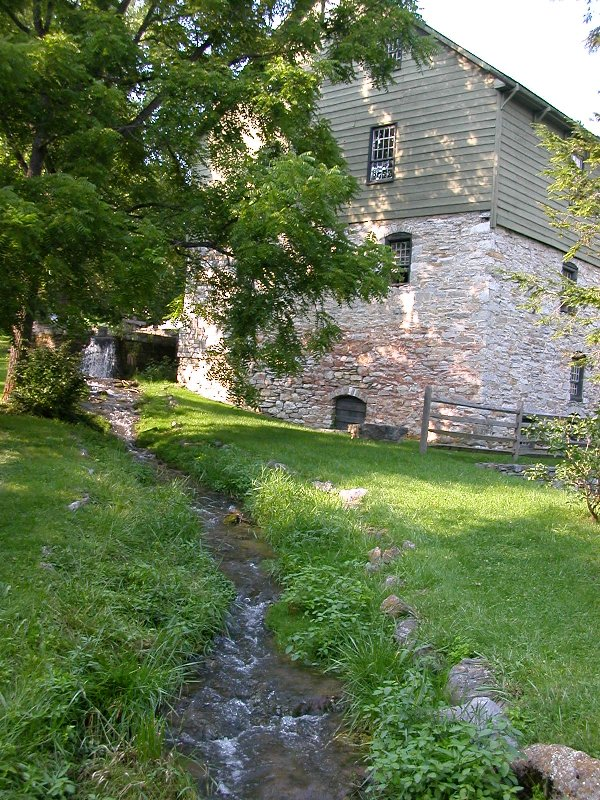 Burwell-Morgan Mill in Clarke County
