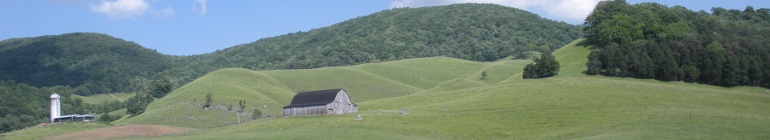 Clover Hollow in Giles County, Virginia