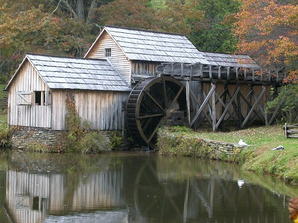 Mabry Mill on Blue Ridge Parkway (perhaps the most-photographed place in Virginia
