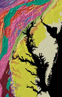Fall Line topography and Geology