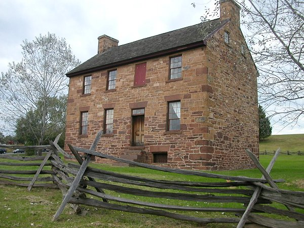 the Stone House on Manassas Battlefield was originally a toll house for the Alexandria-Warrenton Turnpike