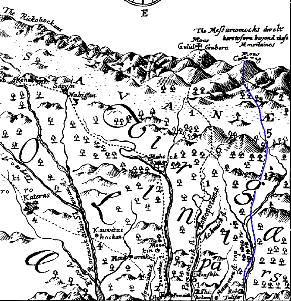 north carolina trail map